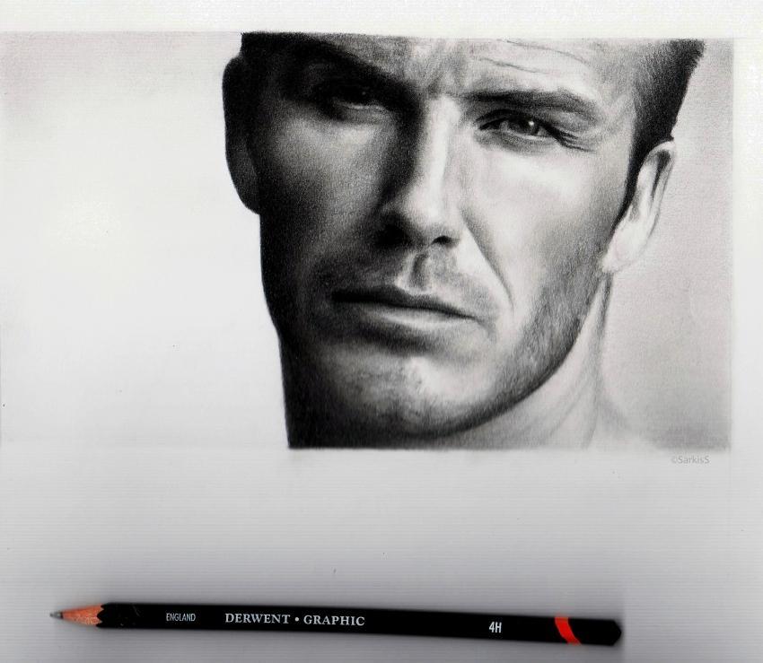 David Beckham par sikoian